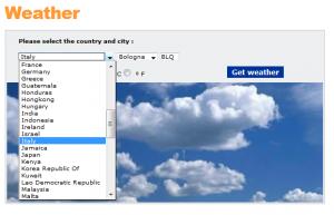 מזג האויר בעולם 1