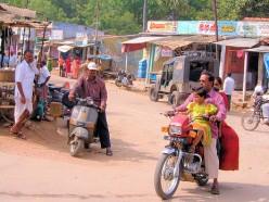 לטייל על אופנוע בהודו
