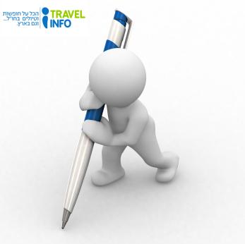 כתיבת תוכן לאתרי תיירות